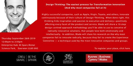 Design Thinking: The easiest process for Transformation Innovation tickets