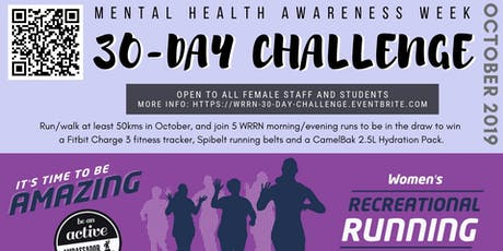 WRRN 30-Day Challenge tickets