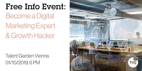 Info Event | Become a Digital Marketing Expert & Growth Hacker tickets