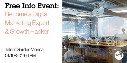 Info Event | Become a Digital Marketing Expert & Growth Hacker