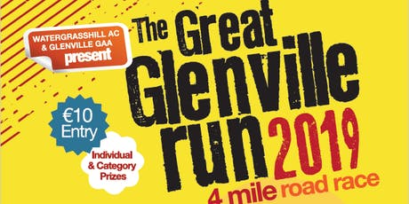 The Great Glenville Run tickets
