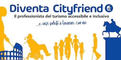 Diventa Cityfriend, il professionista del turismo accessibile e inclusivo tickets