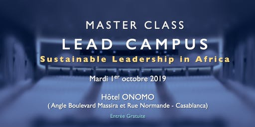 Master Class Sustainable Leadership in Africa