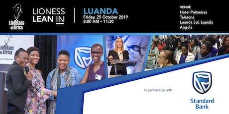 Lioness Lean In, Luanda, Angola bilhetes