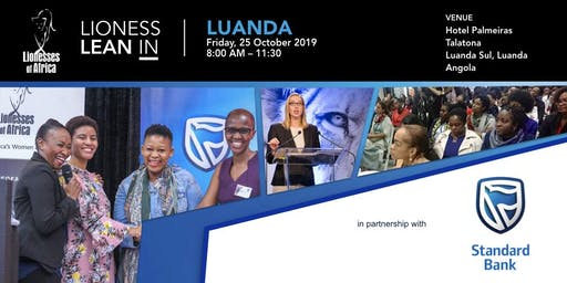 Lioness Lean In, Luanda, Angola