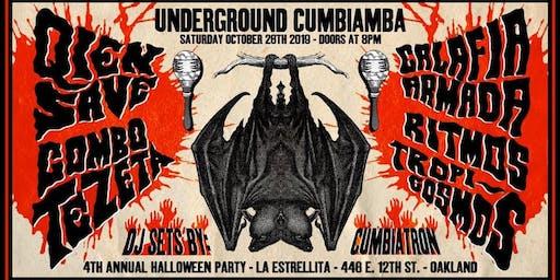 Halloween Cumbiamba and Costume Party