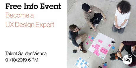 Info Event | Become a UX Design Expert tickets