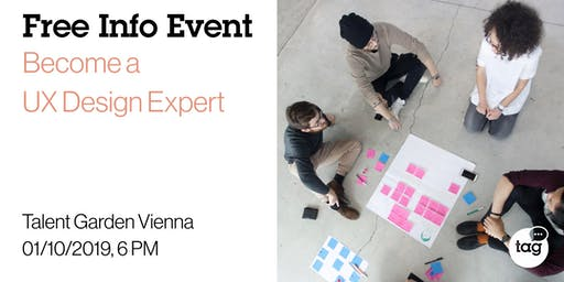 Info Event | Become a UX Design Expert