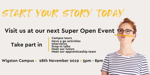 Wigston Campus Super Open Evening