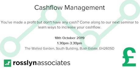 Cashflow Management tickets