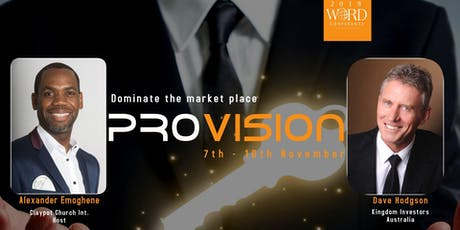 Word Conference Provision 2019 tickets