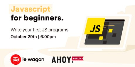 JavaScript for Beginners with Le Wagon tickets