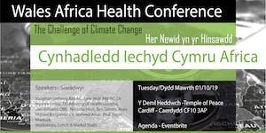 Wales Africa Health Conference / Cynhadledd Iechyd...