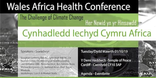 Wales Africa Health Conference / Cynhadledd Iechyd Cymru Affrica