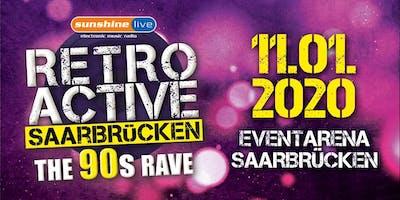 """Sunshine Live """"Retroactive"""" (The 90's Rave) Saarbrücken"""