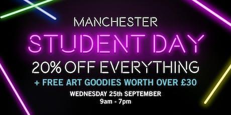 Cass Art Manchester Student Day tickets