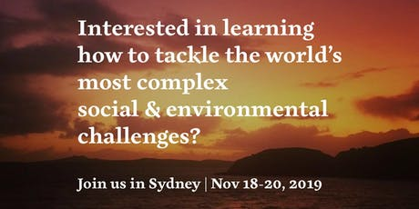 Mastering Complexity Sydney tickets