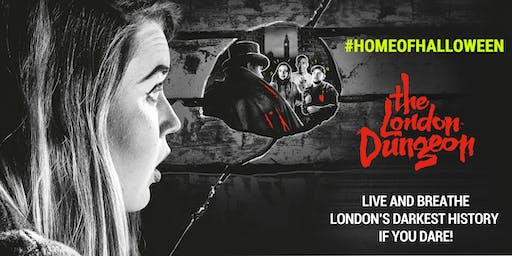 MAP EXCLUSIVE EVENT: Home of Halloween at the London Dungeon