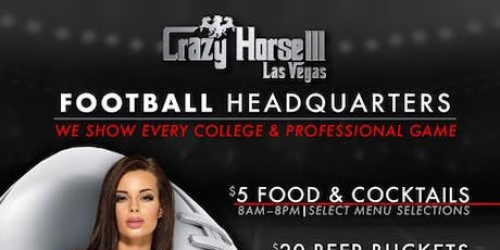 Football Headquarters: College and Professional Football games at CH3 tickets