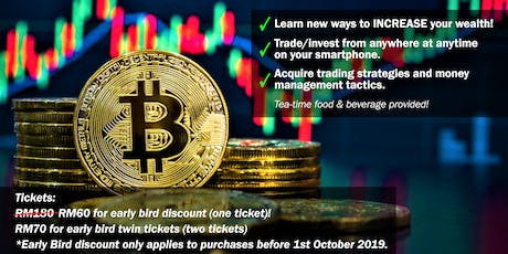 Bitcoin & US Stock Market Workshop For Beginners tickets