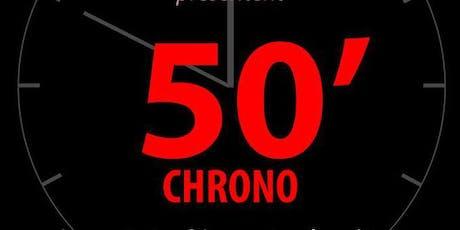 50' CHRONO - LES ESCALIES JOUENT LES PROLONGATIONS billets