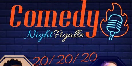 Comedy Night Pigalle #5 tickets