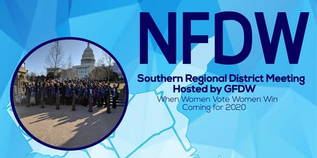 National Federation of Democratic Women Southern Regional Meeting tickets