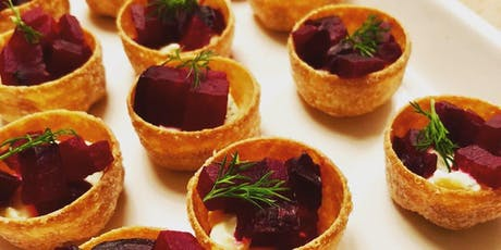 Simple & Stylish Christmas Canapes tickets