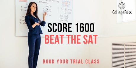 Beat the SAT/ACT: Book Your Trial Class tickets