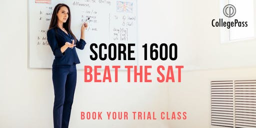 Beat the SAT/ACT: Book Your Trial Class
