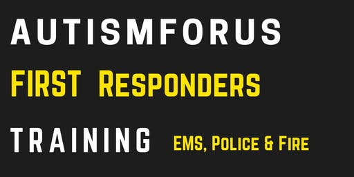 Autismforus First Responders Training