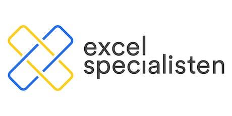 Webinar Nya Funktioner i Excel 365 tickets