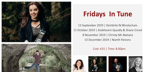 Fridays in Tune! Music evenings in Glasnevin: October - Aoibheann & Shane tickets