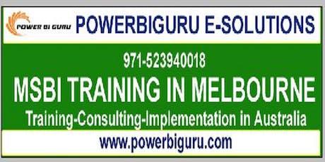 Microsoft MSBI(SSAS,SSRS,SSIS) training in MELBOURNE,Australia ingressos