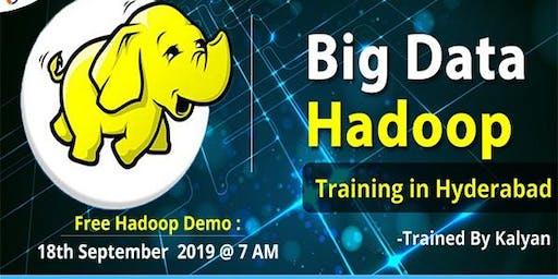 Free Hadoop Workshop  in Hyderabad  on 18th Sep @ 7 am