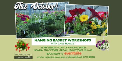 Hanging Basket Workshop w/ Chris Francis