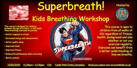Superbreath! Kids Breathing Workshop tickets