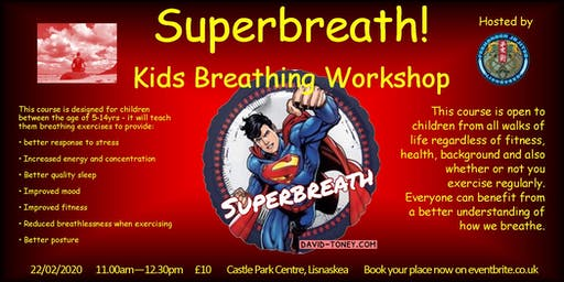Superbreath! Kids Breathing Workshop