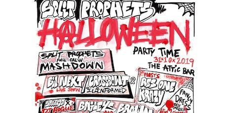 Split Prophets Halloween Party tickets