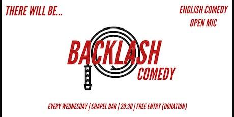 Backlash Comedy #2 Tickets