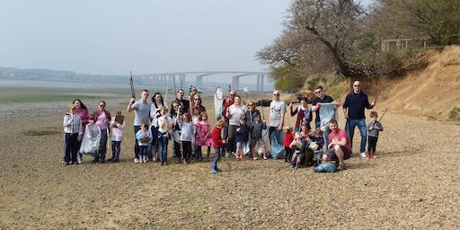 River Orwell beach clean - Alnesbourne Priory