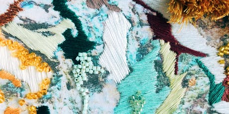 Salt Stitches Abstract Embroidery Workshop - London tickets
