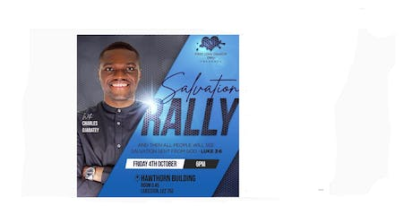 Leicester Salvation Rally! Salvation has come to Leicester! tickets