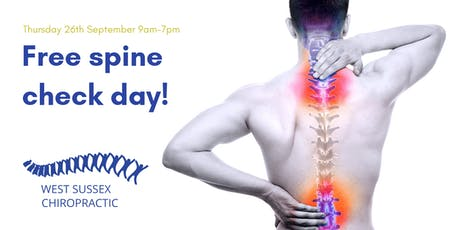 Check Your Spine Day! tickets