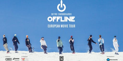 "Nitro Snowboards ""OFFLINE"" presented by Blue Tomato Bern"