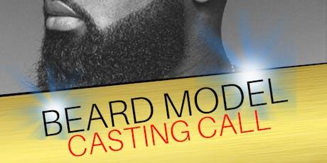 Barber Beard Model Casting Call tickets