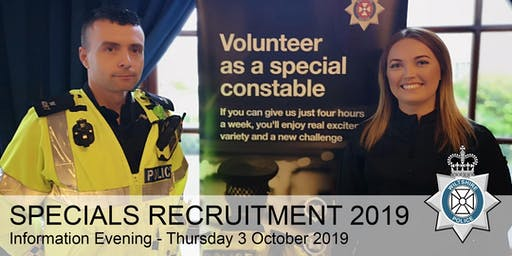 Specials Recruitment Information Evening