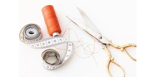 Machine Sewing 101 (2019-10-24 starts at 6:00 PM)