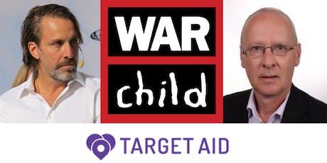 Bilder och berättelser om barns utsatthet i krigshärjade områden tickets