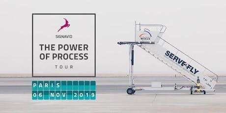Signavio World Tour: Power of Process PARIS 2019 billets